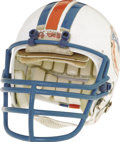 1985 Dan Marino Super Bowl XIX Game Worn Helmet. Despite his top ranking on the career charts in the two most relevant s...