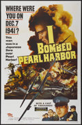 "Movie Posters:War, I Bombed Pearl Harbor (Parade, 1960). One Sheet (27"" X 41"").War...."