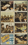 "Movie Posters:War, The Battle of Russia (20th Century Fox, 1943). Lobby Card Set of 8(11"" X 14""). War.... (Total: 8 Items)"