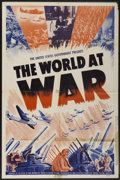 "Movie Posters:Documentary, The World at War (War Activities Committee, 1942). One Sheet (27"" X 41""). Documentary...."