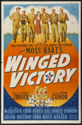"Movie Posters:War, Winged Victory (20th Century Fox, 1944). One Sheet (27"" X 41"").War...."