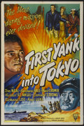 "Movie Posters:War, First Yank Into Tokyo (RKO, 1945). One Sheet (27"" X 41""). War...."