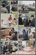 "Movie Posters:Crime, The Anderson Tapes (Columbia, 1971). Lobby Card Set of 8 (11"" X 14""). Crime.... (Total: 8 Items)"