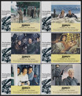 "Movie Posters:War, Zeppelin (Warner Brothers, 1971). Lobby Cards (6) (11"" X 14"").War.... (Total: 6 Items)"