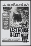 """Movie Posters:Horror, The Last House on the Left (Sean S. Cunningham FIlms, 1977). One Sheet (27"""" X 41""""). Horror...."""