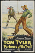 """Movie Posters:Western, Partners of the Trail (Monogram, 1931). One Sheet (27"""" X 41"""").Western...."""