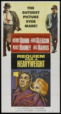 "Movie Posters:Sports, Requiem for a Heavyweight (Columbia, 1962). Three Sheet (41"" X 81""). Sports...."
