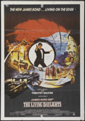 "Movie Posters:James Bond, The Living Daylights (United Artists, 1987). British One Sheet (27""X 39""). James Bond...."