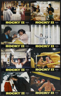 """Movie Posters:Sports, Rocky II Lot (United Artists, 1979). Lobby Card Set of 8 and Lobby Cards (5) (11"""" X 14""""). Sports.... (Total: 13 Items)"""