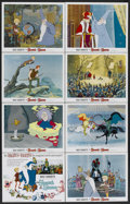 "Movie Posters:Animated, The Sword in the Stone (Buena Vista, 1963). Lobby Card Set of 8 (11"" X 14""). Animated.... (Total: 8 Items)"