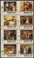 "Movie Posters:Adventure, Swamp Fire (Paramount, 1946). Lobby Card Set of 8 (11"" X 14"").Adventure.... (Total: 8 Items)"
