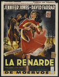 "Movie Posters:Drama, Gone to Earth (British Lion, 1950). Belgian (14"" X 19""). Drama...."