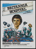 "Movie Posters:Drama, Britannia Hospital (Gaumont, 1982). French Petite (16"" X 21.75"").Drama...."