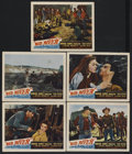"Movie Posters:Western, Red River (United Artists, 1948). Lobby Cards (5) (11"" X 14"").Western.... (Total: 5 Items)"