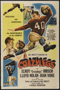 """Movie Posters:Sports, Crazylegs (Republic, 1953). One Sheet (27"""" X 41"""") Style A. Sports...."""