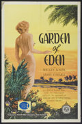 """Movie Posters:Adult, Garden of Eden (Excelsior, 1954). One Sheet (27"""" X 41""""). Adult...."""