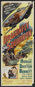 """Movie Posters:War, Dragonfly Squadron (Allied Artists, 1954). Insert (14"""" X 36"""").War...."""