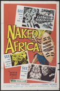 "Movie Posters:Documentary, Naked Africa (American International, 1957). One Sheet (27"" X 41""). Documentary...."