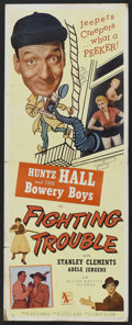 """Movie Posters:Comedy, Fighting Trouble (Allied Artists, 1956). Insert (14"""" X 36"""").Comedy...."""