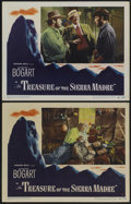 """Movie Posters:Drama, The Treasure of the Sierra Madre (Warner Brothers, 1948). LobbyCards (2) (11"""" X 14""""). Drama.... (Total: 2 Items)"""