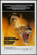 "Movie Posters:Crime, Straw Dogs (Cinerama Releasing, 1972). Autographed One Sheet (27"" X41""). Crime...."