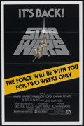 "Movie Posters:Science Fiction, Star Wars (20th Century Fox, R-1981). One Sheet (27"" X 41"").Science Fiction...."