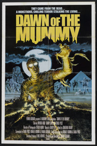 "Dawn of the Mummy (Harmony Gold, 1981). One Sheet (27"" X 41""). Horror"