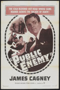 """Movie Posters:Crime, Public Enemy (Warner Brothers, R-1954). One Sheet (27"""" X 41""""). Crime...."""