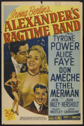 """Movie Posters:Musical, Alexander's Ragtime Band (20th Century Fox, R-1947). One Sheet (27"""" X 41"""") Style B. Musical...."""
