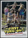 """Movie Posters:Adult, The First Turn On (Troma, 1983). One Sheet (27"""" X 41""""). Adult...."""