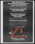 "Movie Posters:Adult, The Devil in Miss Jones (MB Productions, 1973). Poster (22"" X 27""). Adult...."