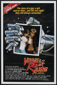 "Voyage of the Rock Aliens (KGA/Interplanetary Curb, 1984). One Sheet (27"" X 41""). Comedy"