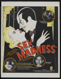 "Movie Posters:Sexploitation, Sex Madness (New Line, R-1973). Poster (18.5"" X 24"").Sexploitation...."