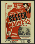 "Movie Posters:Cult Classic, Reefer Madness/ Martian Space Party Combo (New Line, R-1972). MiniPoster (17.5"" X 22.25""). Cult Classic...."