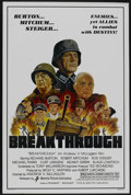 "Movie Posters:War, Breakthrough (Maverick Pictures, 1980). One Sheet (27"" X 41"").War...."
