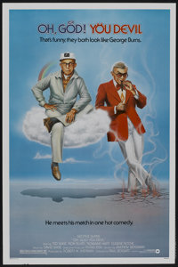 """Oh, God! You Devil (Warner Brothers, 1984). One Sheet (27"""" X 41""""). Comedy"""