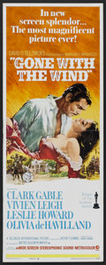"Movie Posters:Academy Award Winner, Gone with the Wind (MGM, R-1968). Insert (14"" X 36""). Academy AwardWinner...."