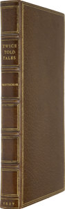 Books:First Editions, Nathaniel Hawthorne. Twice-Told Tales. Boston: AmericanStationers Co. John B. Russell, 1837....