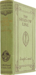 Books:First Editions, Joseph Conrad. The Shadow-Line, A Confession. London: J. M.Dent & Sons, 1917....