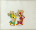 Animation Art:Production Cel, The Three Caballeros Animation Production Cel Original Art(Disney, 1944)....