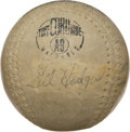 Autographs:Baseballs, Gil Hodges Double-Signed Baseball....