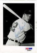 Autographs:Photos, Roger Maris Signed Photo From Rookie Year. ...