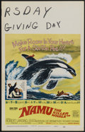 """Movie Posters:Adventure, Namu, the Killer Whale Lot (United Artists, 1966). Window Cards (4)(14"""" X 22""""). Adventure.... (Total: 4 Items)"""