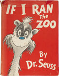 Books:Children's Books, Dr. Seuss. If I Ran the Zoo. New York: Random House,[1950]....