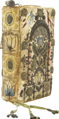 Books:Non-American Editions, [Embroidered Binding]. [Bible in English]. 1628 Edition of the KingJames Version of the Bible in a Beautifully Embroidered Bi...