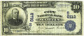 National Bank Notes:Tennessee, Martin, TN - $10 1902 Date Back Fr. 618 The City NB Ch. # (S)9112. ...