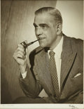 Movie/TV Memorabilia:Photos, Boris Karloff Photo Portrait. ...