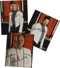 Movie/TV Memorabilia:Autographs and Signed Items, Star Trek: The Next Generation Set of Cast Signed Photos(1998)....