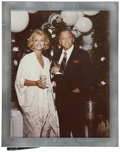 Movie/TV Memorabilia:Photos, Glenn Ford's Photo from Frank Sinatra with Engraved Frame....