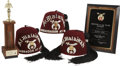 Movie/TV Memorabilia:Awards, Glenn Ford's Shriner Hats and Awards.... (Total: 6 Items)